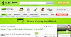 Fortuneo page acceuil